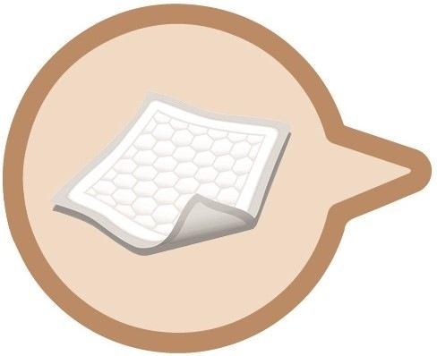 Pflegepaket Nummer 02 | Inhalt: Bettschutzeinlagen | Einmalhandschuhe